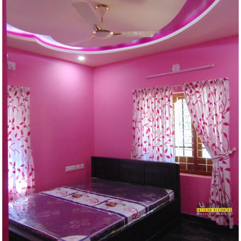 Kerala living room interior designs work in lowest price Low cost interior design for homes in kerala