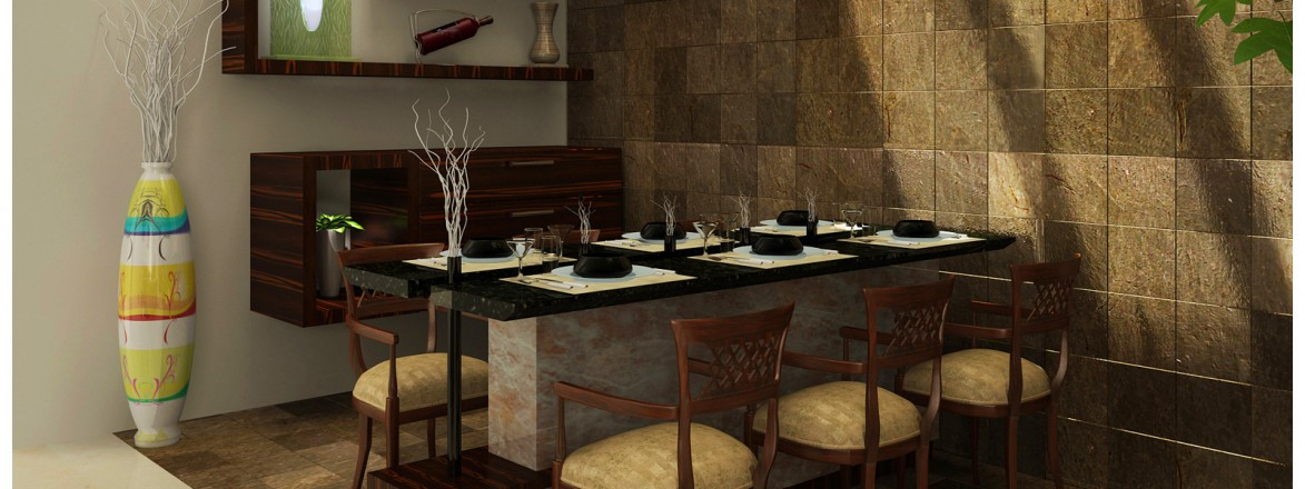 Thrissur interior furniture shops dining room designs in for Interior design ideas for dining area