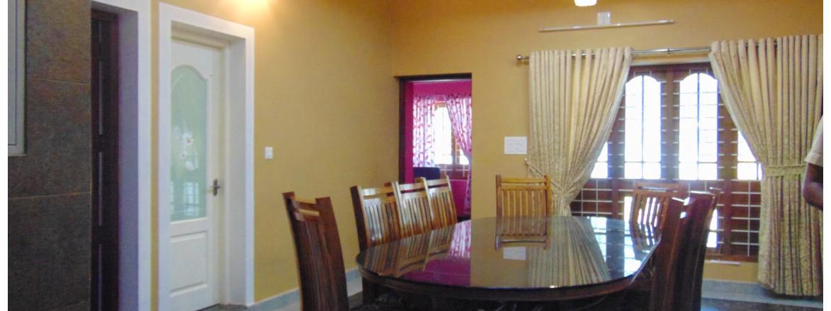 Top dining room designs kerala from interior designer thrissur for Dining room designs in kerala