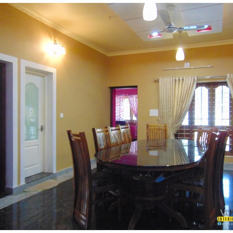 dining room designs kerala