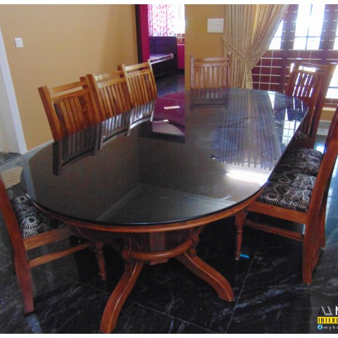 Wooden designs dining table kerala for home interoir