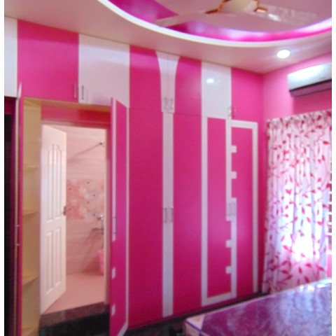 Kerala bedrooms interior designers from thrissur