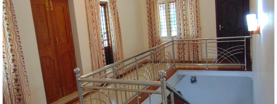 Designing ideas for indian kerala home staircase models for Dining room ideas kerala