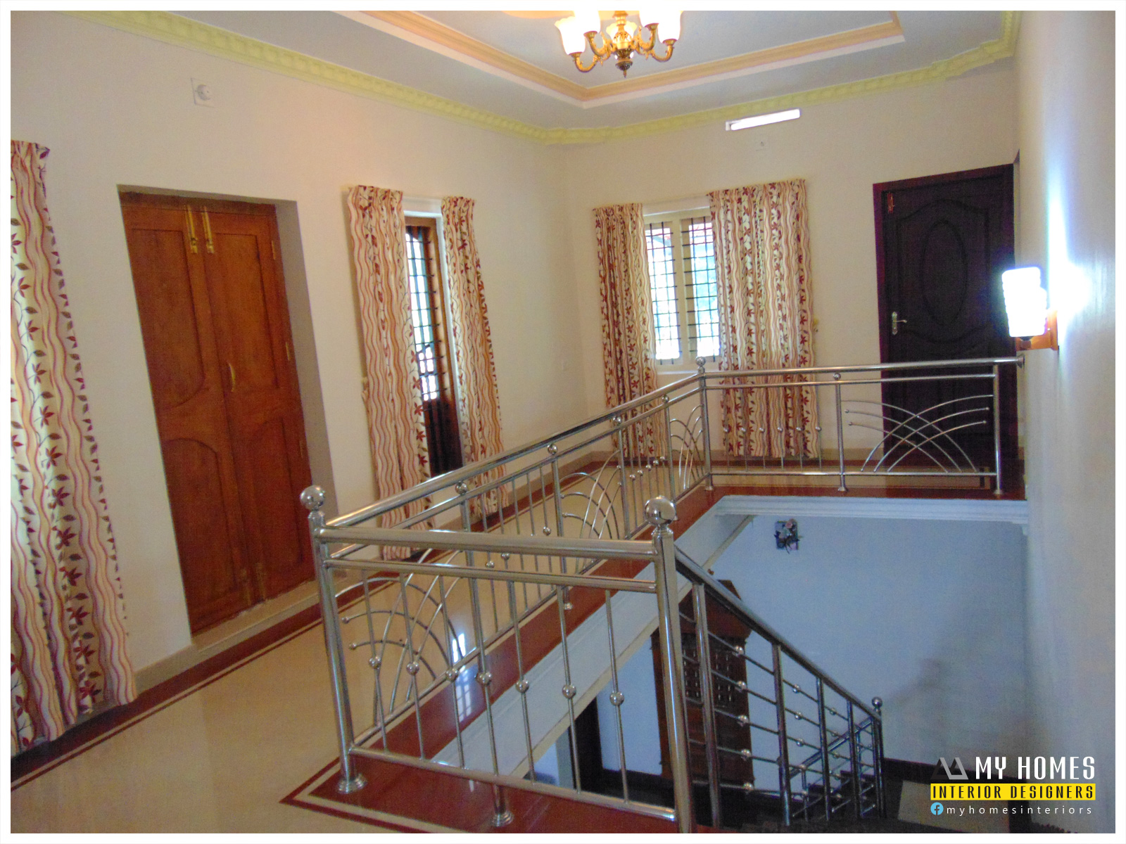 Merveilleux Latest Trend Kerala Home Staircase Models Designs