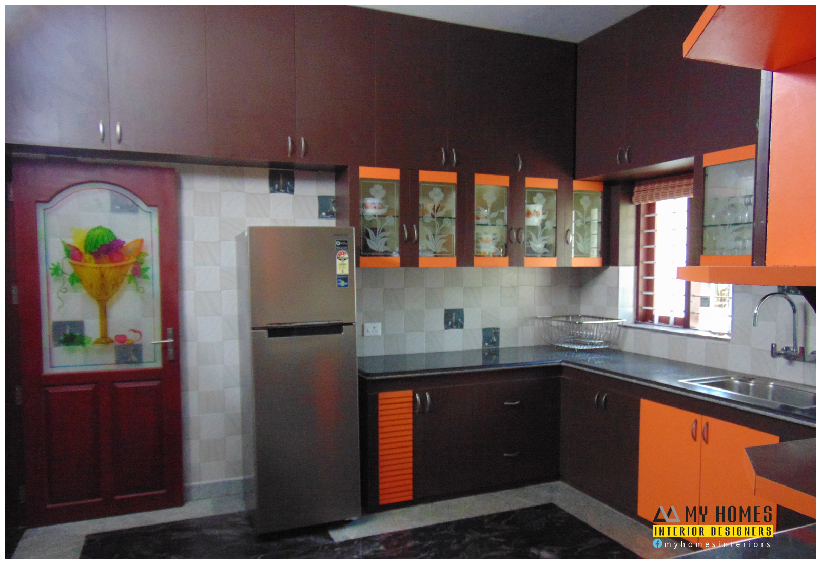 Kerala kitchen designs from top interior designers thrissur for Kitchen design kerala