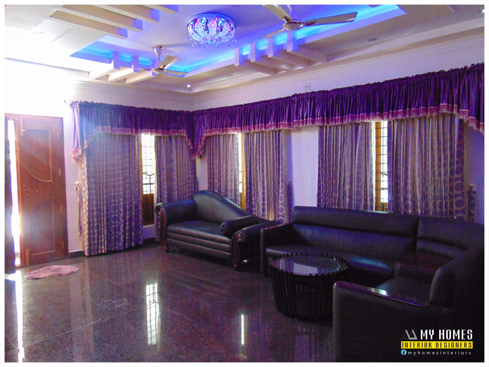 Kerala interior design ideas from designing company thrissur for Living room design ideas kerala