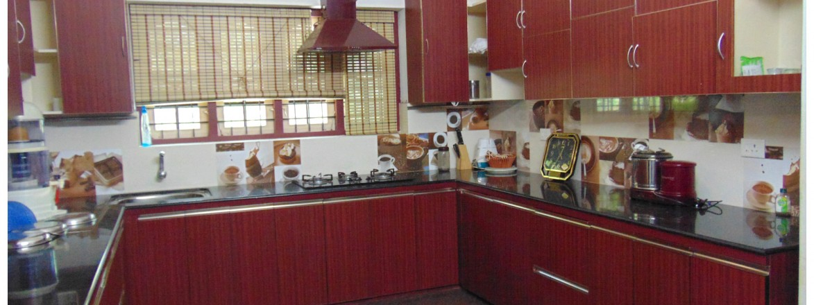 Top kitchen design kerala from interior designers thrissur for Modern kitchen designs in kerala