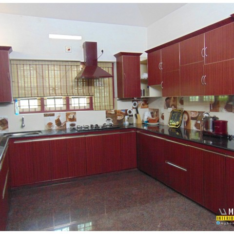 Modern modular kitchen design kerala