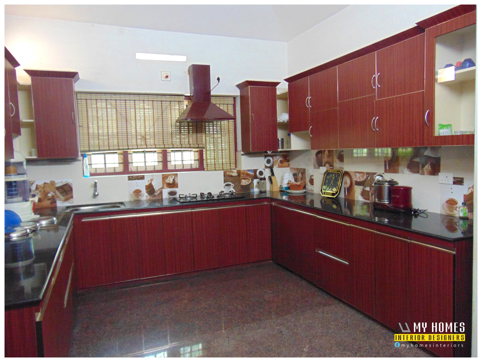 Traditional homes house interior pooja room designs kerala for Home kitchen design images