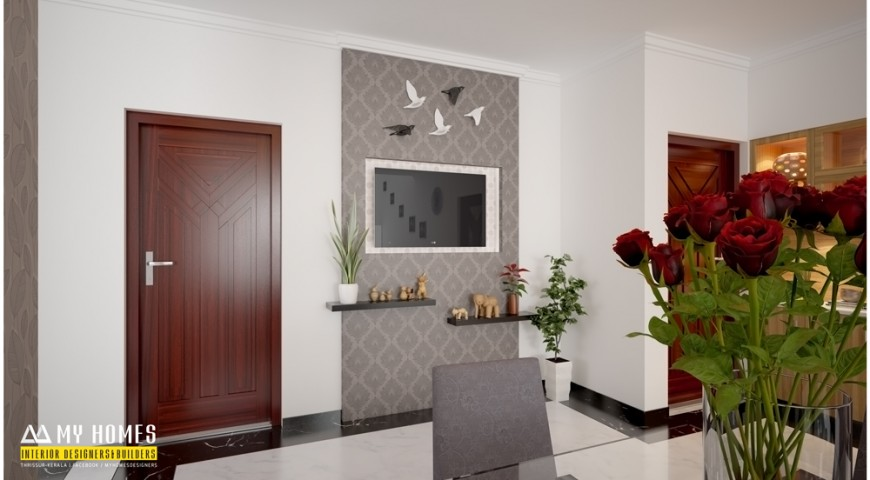 Dining room design archives kerala interior designers for Dining room designs kerala