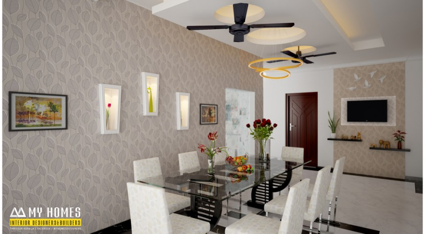 Furniture designs archives kerala interior designers for Dining hall interior design