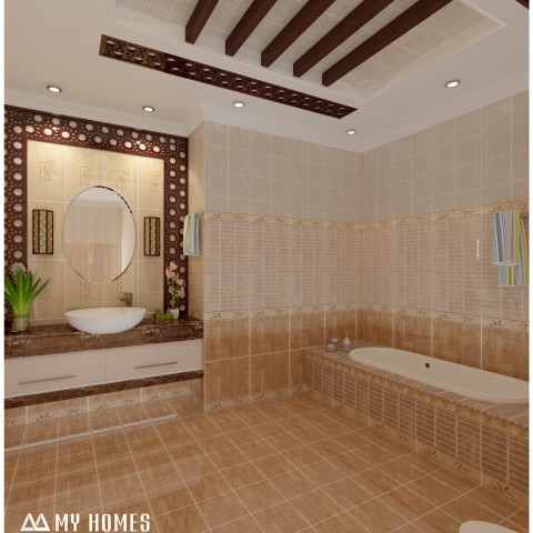 Kerala interior design ideas from designing company thrissur for Bathroom designs in kerala