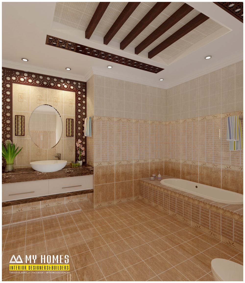 kerala interior design ideas from designing company thrissur - Bathroom Design Ideas In Kerala