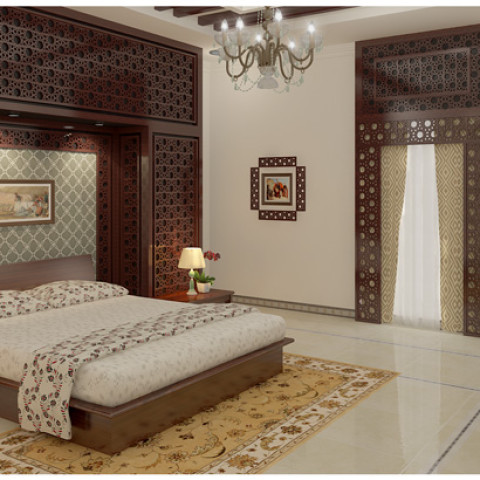 Modern Home Kerala Bedrooms Interior Designers Thrissur India