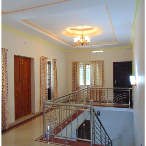 kerala house staircase design from professional staircases designers
