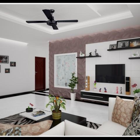 Kerala living room interior designs for modern homes